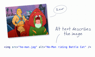 He-Man image showing the 'alt' attribute.