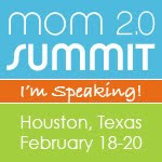 I'm Speaking at The Mom 2.0 Summit