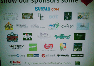 List of Social Media Day Buffalo sponsor logos.