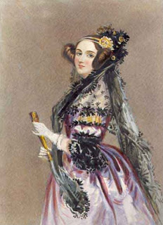 Portrait of Augusta Ada King, Countess of Lovelace