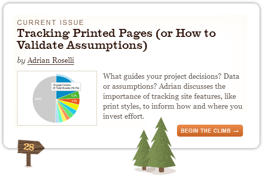 Tracking Printed Pages (or How to Validate Assumptions)