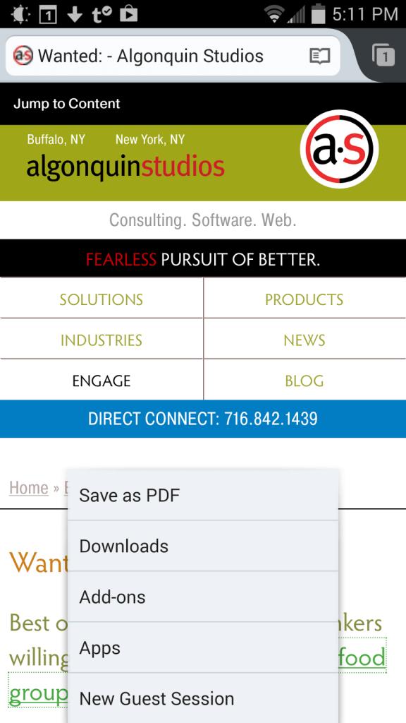 Firefox print dialog.
