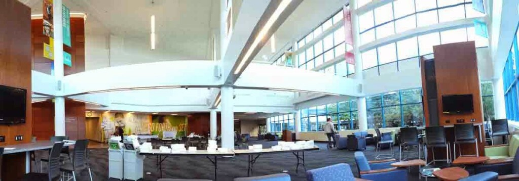 Panoramic view of Canisius College Science Hall
