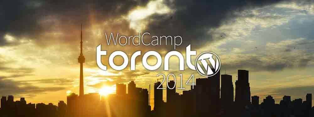 WordCamp Toronto 2014 logo.