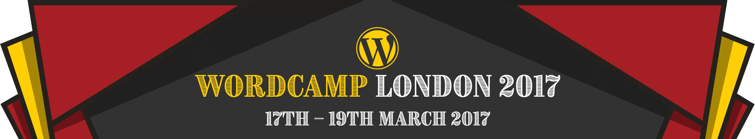 WordCamp London 2017 logo
